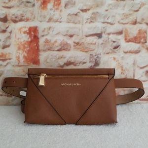 New Michael Kors Saffiano Belt Bag